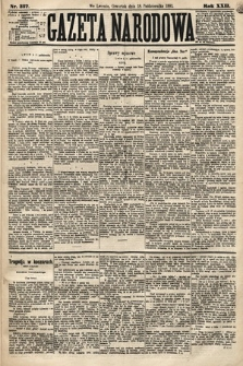 Gazeta Narodowa. 1883, nr237