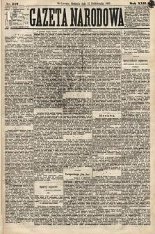 Gazeta Narodowa. 1883, nr240