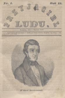 Przyjaciel Ludu. R.15, [T.1], Nr. 1 (3 stycznia 1848)