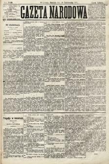 Gazeta Narodowa. 1883, nr246