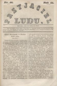 Przyjaciel Ludu. R.15, [T.2], Nr. 46 (11 listopada 1848)