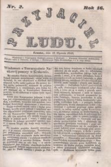 Przyjaciel Ludu. R.16, [T.1], Nr. 2 (13 stycznia 1849)