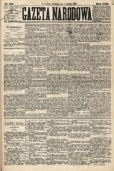Gazeta Narodowa. 1883, nr275