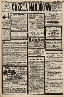 Gazeta Narodowa. 1883, nr286