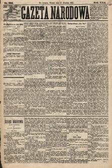Gazeta Narodowa. 1883, nr293
