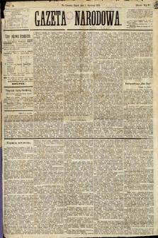 Gazeta Narodowa. 1875, nr1