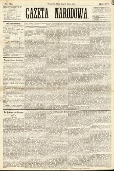 Gazeta Narodowa. 1875, nr64
