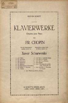 Ballady. Fortepian. Nr 1. Op. 23. g-moll