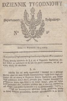 Dziennik Tygodniowy Departamentu Bydgoskiego. 1814, Ner. 2 (11 stycznia)