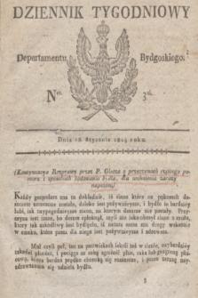Dziennik Tygodniowy Departamentu Bydgoskiego. 1814, Ner. 3 (18 stycznia)