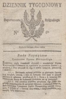 Dziennik Tygodniowy Departamentu Bydgoskiego. 1814, Ner. 6 (8 lutego)