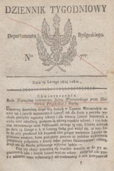 Dziennik Tygodniowy Departamentu Bydgoskiego. 1814, Ner. 7 (15 lutego)