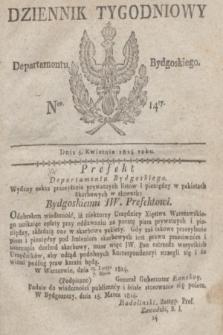 Dziennik Tygodniowy Departamentu Bydgoskiego. 1814, Ner. 14 (5 kwietnia)