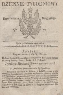 Dziennik Tygodniowy Departamentu Bydgoskiego. 1814, Ner. 16 (19 kwietnia) + dod.