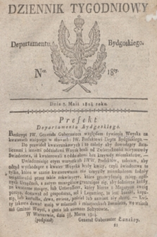 Dziennik Tygodniowy Departamentu Bydgoskiego. 1814, Ner. 18 (3 maja)