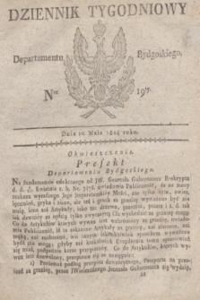 Dziennik Tygodniowy Departamentu Bydgoskiego. 1814, Ner. 19 (10 maja)