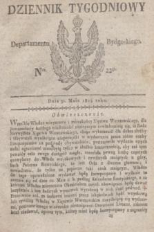 Dziennik Tygodniowy Departamentu Bydgoskiego. 1814, Ner. 22 (31 maja) + dod.