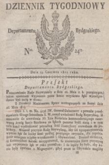 Dziennik Tygodniowy Departamentu Bydgoskiego. 1814, Ner. 24 (14 czerwca) + dod.