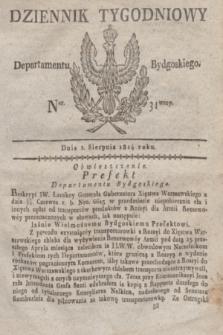 Dziennik Tygodniowy Departamentu Bydgoskiego. 1814, Ner. 31 (2 sierpnia)