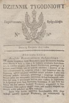 Dziennik Tygodniowy Departamentu Bydgoskiego. 1814, Ner. 34 (23 sierpnia) + dod.