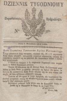 Dziennik Tygodniowy Departamentu Bydgoskiego. 1814, Ner. 36 (6 września)