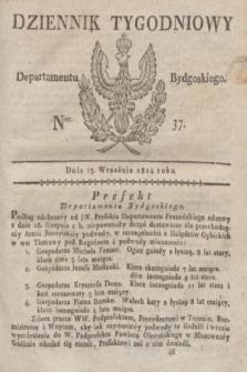 Dziennik Tygodniowy Departamentu Bydgoskiego. 1814, Ner. 37 (13 września)