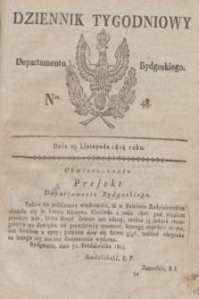 Dziennik Tygodniowy Departamentu Bydgoskiego. 1814, Ner. 48 (29 listopada)