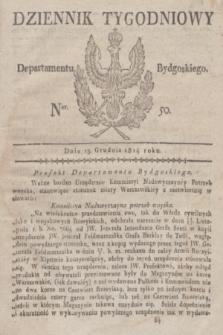 Dziennik Tygodniowy Departamentu Bydgoskiego. 1814, Ner. 50 (13 grudnia)