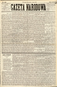 Gazeta Narodowa. 1875, nr126