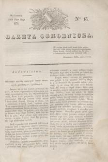 Gazeta Ogrodnicza. 1830, Ner. 13 (28 maja)