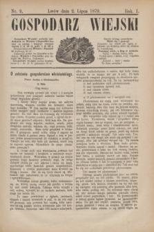 Gospodarz Wiejski. R.1, nr 9 (2 lipca 1879)