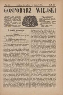 Gospodarz Wiejski. R.2, nr 8 (13 maja 1880)