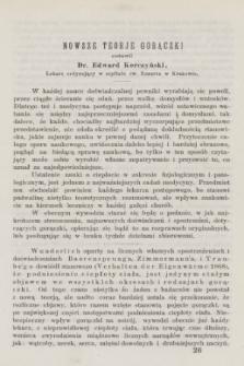 Służba Zdrowia Publicznego : czasopismo poświęcone wszystkim gałęziom umiejętności lekarskiej, ze szczególnym względem na medycynę publiczną. 1872, [T.1], [z. 6] ([czerwiec])