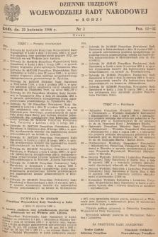 Dziennik Urzędowy Wojewódzkiej Rady Narodowej wŁodzi. 1966, nr 3