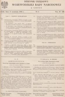 Dziennik Urzędowy Wojewódzkiej Rady Narodowej wŁodzi. 1968, nr 8