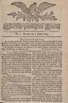 Schlesische privilegirte Zeitung. 1819, No. 2 (4 Januar) + dod.