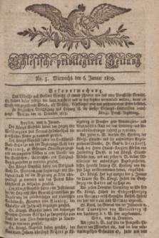 Schlesische privilegirte Zeitung. 1819, No. 3 (6 Januar) + dod.