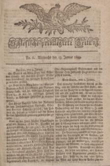 Schlesische privilegirte Zeitung. 1819, No. 6 (13 Januar) + dod.
