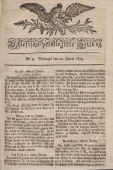 Schlesische privilegirte Zeitung. 1819, No. 9 (20 Januar) + dod.