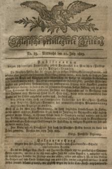 Schlesische privilegirte Zeitung. 1819, No. 85 (21 Juli) + dod.
