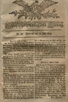 Schlesische privilegirte Zeitung. 1819, No. 88 (28 Juli) + dod.