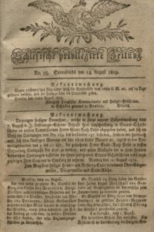 Schlesische privilegirte Zeitung. 1819, No. 95 (14 August) + dod.