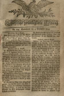 Schlesische privilegirte Zeitung. 1819, No. 104 (4 September) + dod.