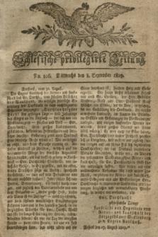 Schlesische privilegirte Zeitung. 1819, No. 106 (8 September) + dod.