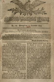 Schlesische privilegirte Zeitung. 1819, No. 108 (13 September) + dod.