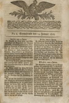 Privilegirte Schlesische Zeitung. 1826, No. 6 (14 Januar) + dod.