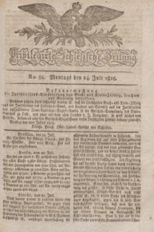 Privilegirte Schlesische Zeitung. 1826, No. 86 (24 Juli) + dod.