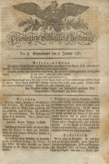 Privilegirte Schlesische Zeitung. 1827, No. 3 (6 Januar) + dod.