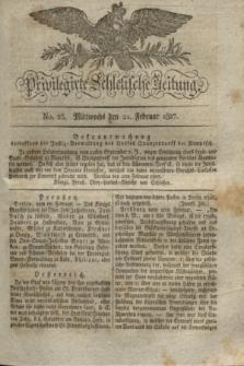 Privilegirte Schlesische Zeitung. 1827, No. 23 (21 Februar) + dod.