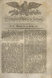 Privilegirte Schlesische Zeitung. 1827, No. 25 (26 Februar) + dod.